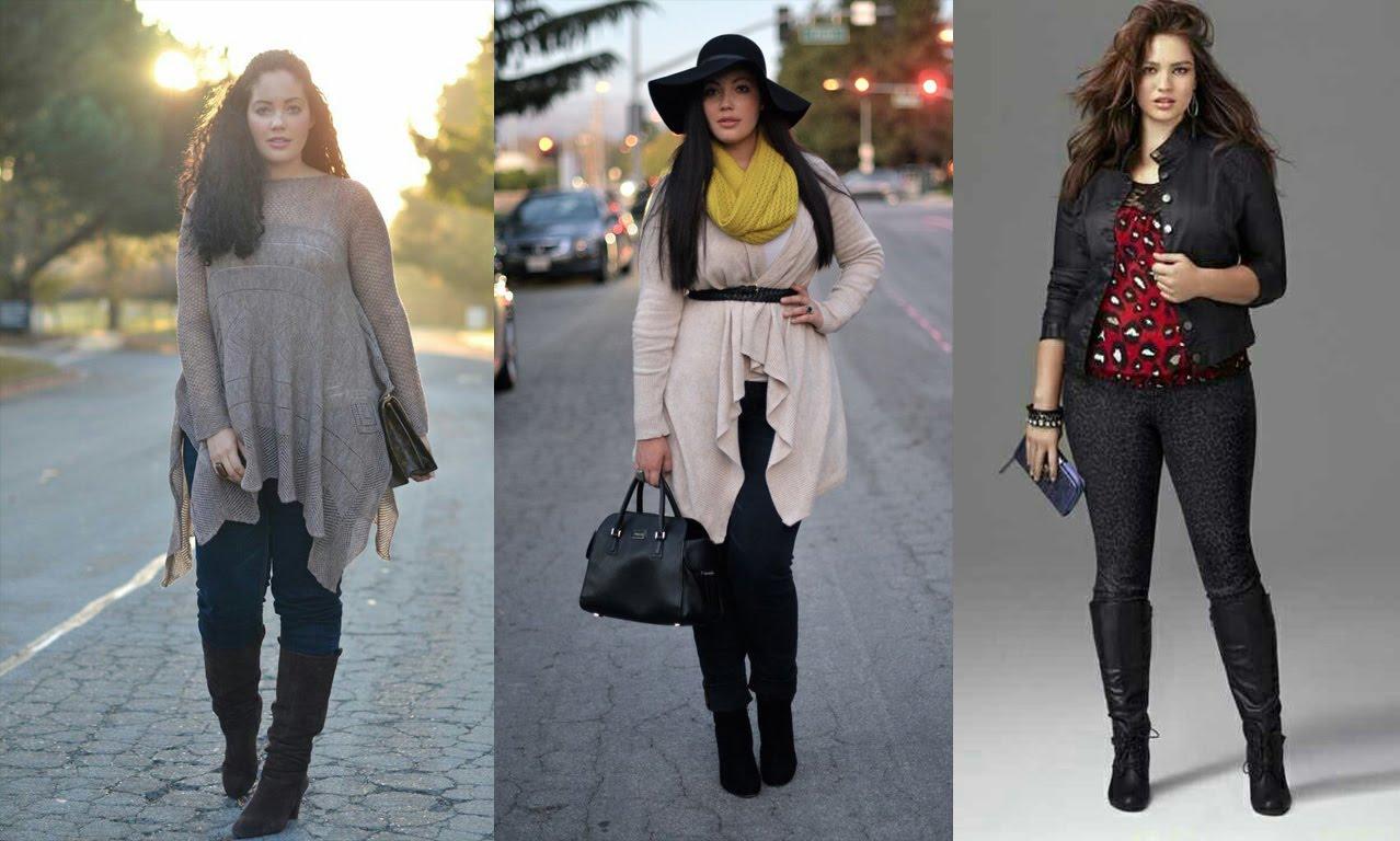 d079be2b0d47c Cómo estar a la moda en invierno si eres de talla grande – Dale ...