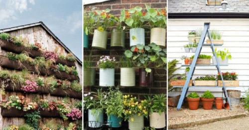 7 consejos para decorar tu terraza en primavera con flores naturales dale mobilidad a tu look - Plantas para jardines verticales ...