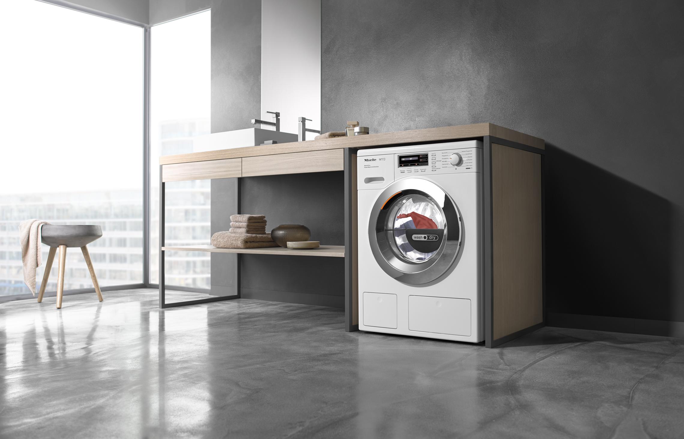 Armarios para lavadora y secadora cool best lavadora en un bao pequeno es para lavadora y - Armario lavadora ...