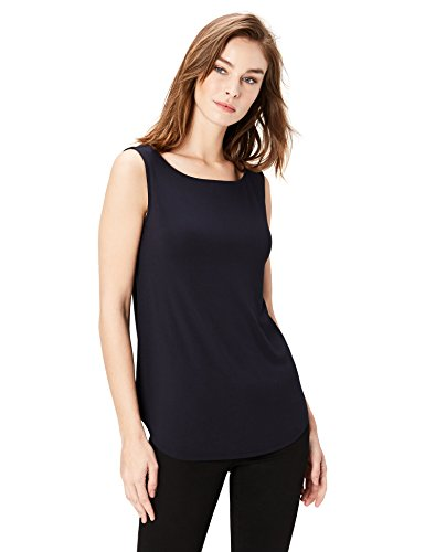 Daily Ritual Supersoft Terry V-Neck Tank Mujer